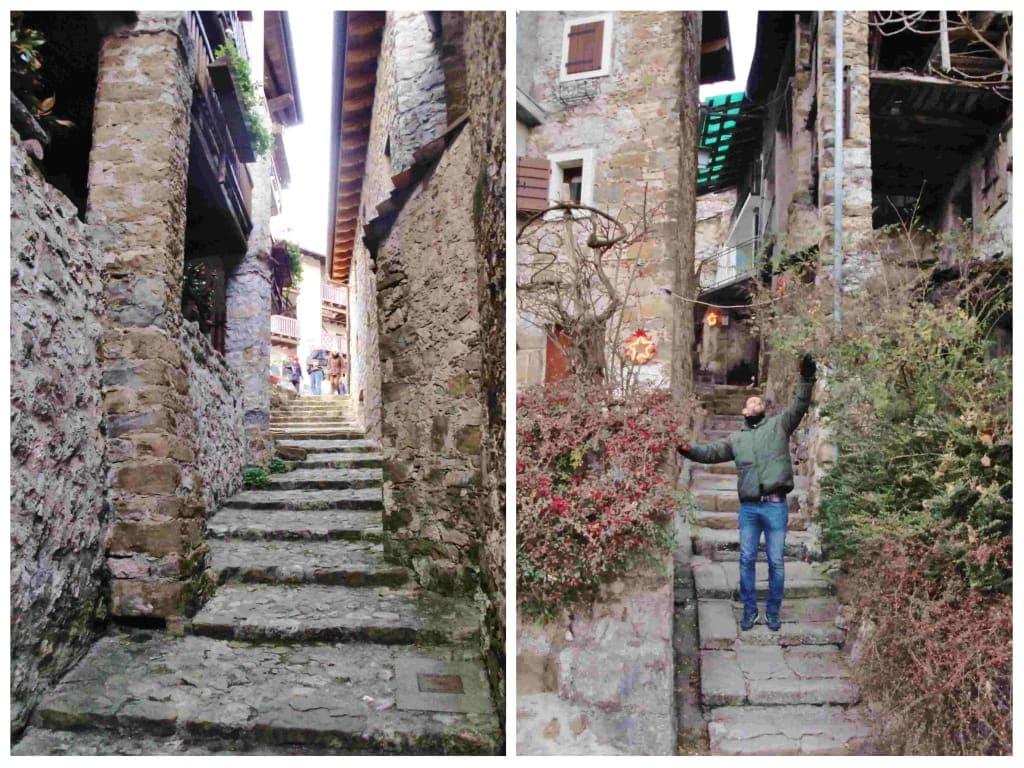I vicoli di Poffabro e le case in pietra