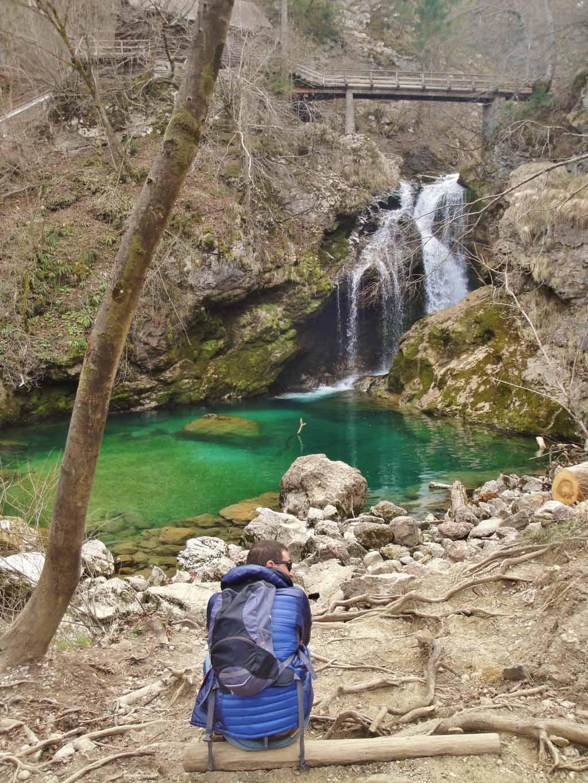 La maestosa cascata Šum