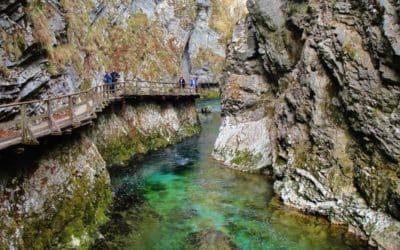 La gola di Vintgar: una passeggiata immersi nella natura della Slovenia