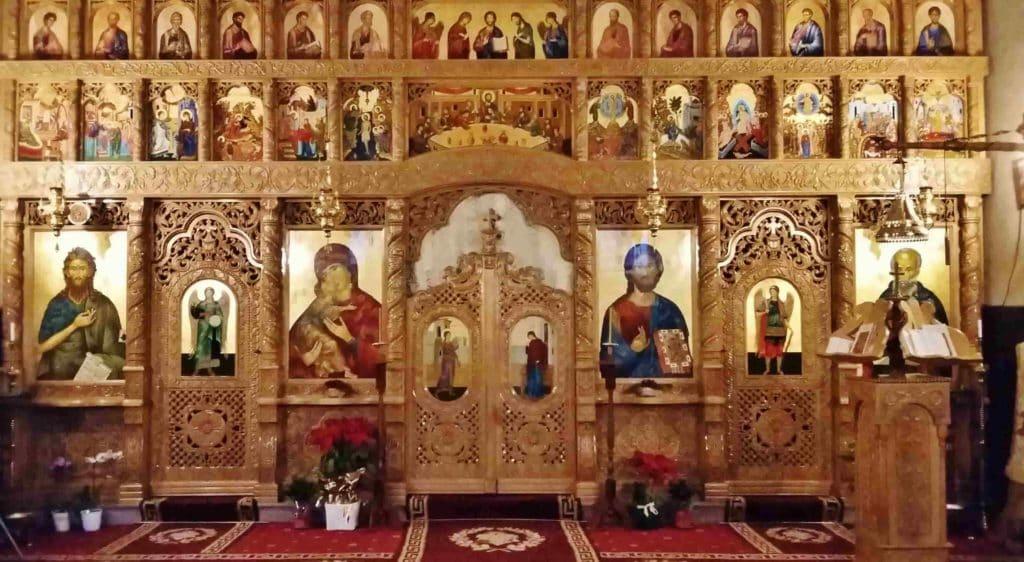 Iconostasi chiesa ortodossa a Portogruaro