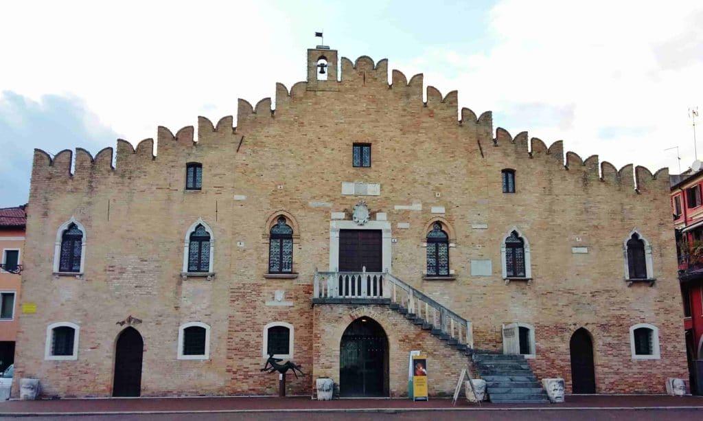 Portogruaro, il palazzo municipale