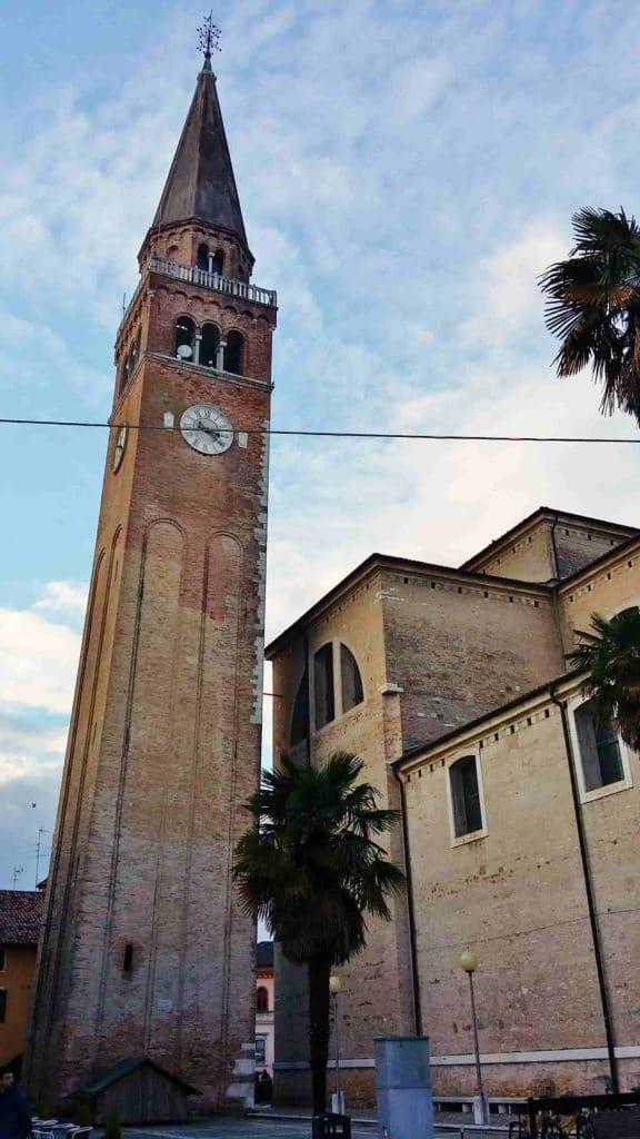 Torre del duomo di Sant'Andrea a Portogruaro