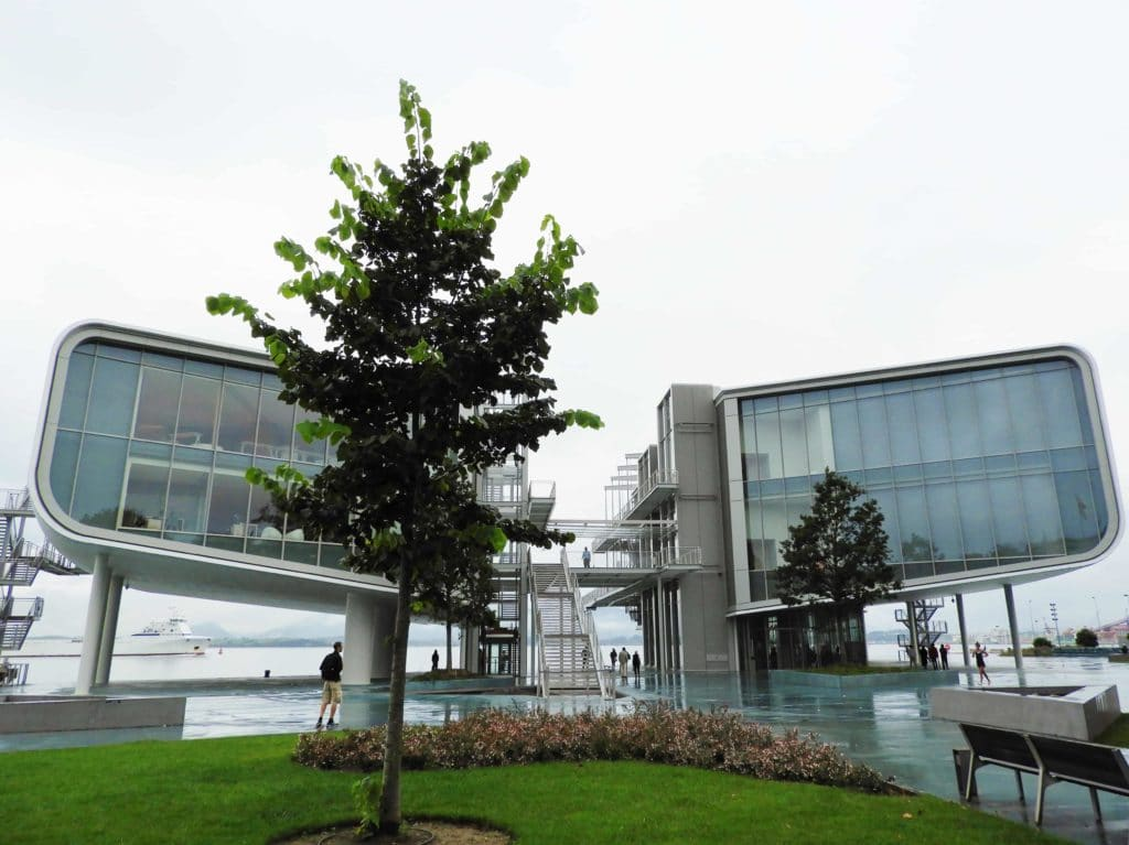 Centro Botin a Santander e Jardines de Pereda