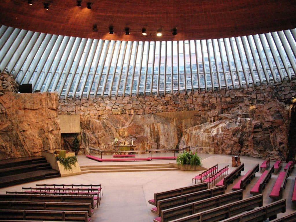 La chiesa nella roccia ad Helsinki