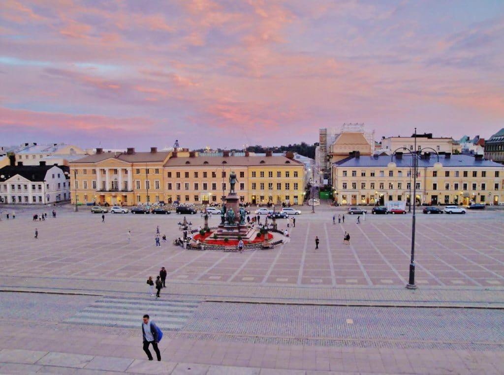 Piazza del Senato ad Helsinki
