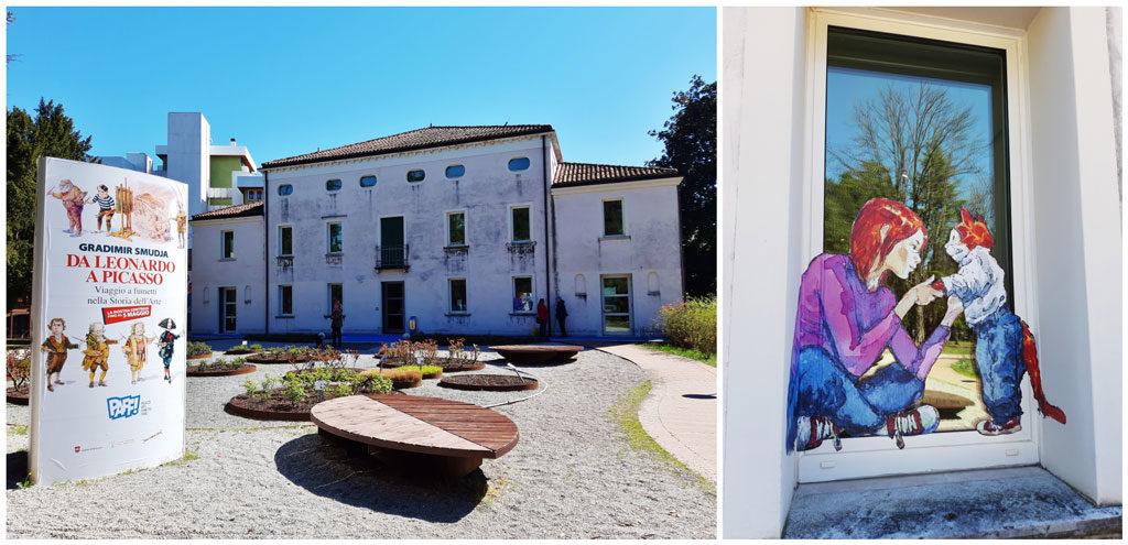 Il PAFF, Palazzo Arti Fumetto Friuli