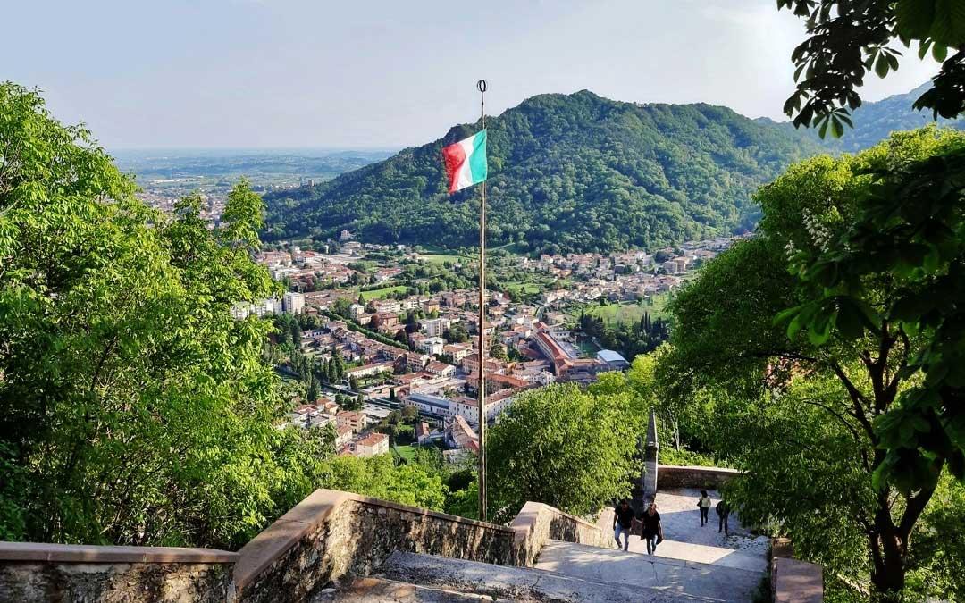 Serravalle, l'antico centro storico dell'attuale Vittorio Veneto