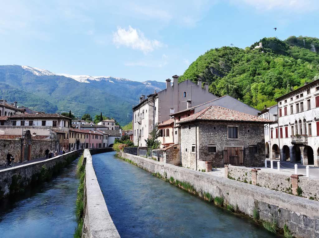 Fiume Meschio a Serravalle