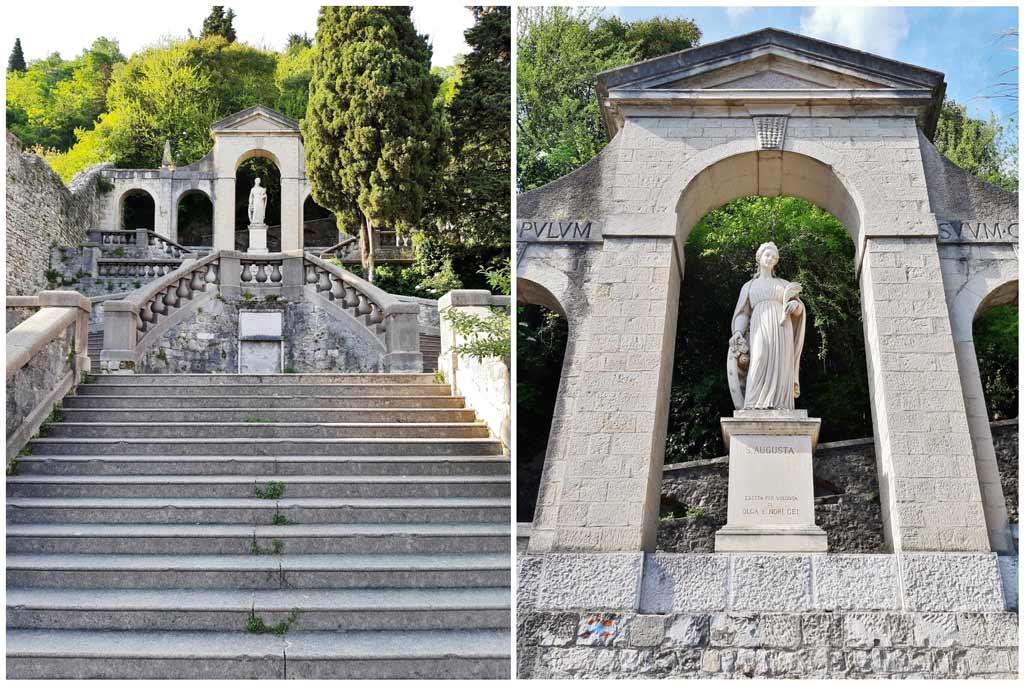 Scalinata di Sant'Augusta a Serravalle