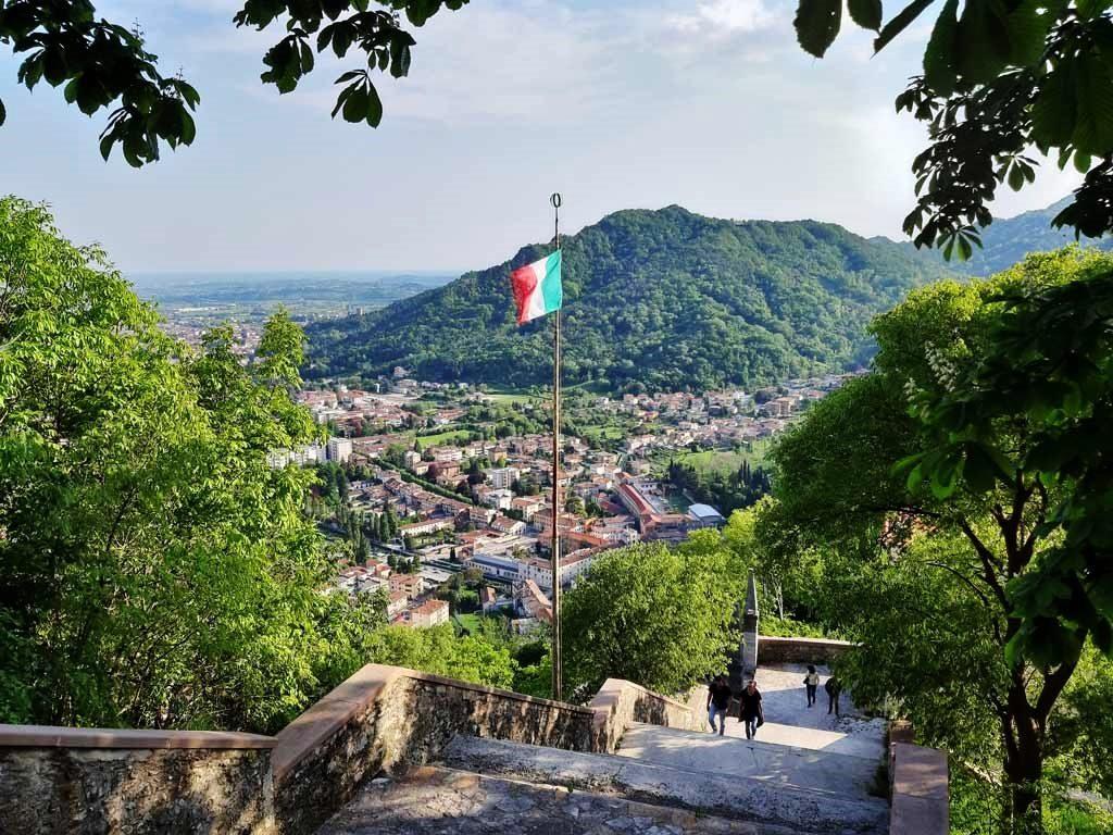 Panorama di Serravalle e Vittorio Veneto