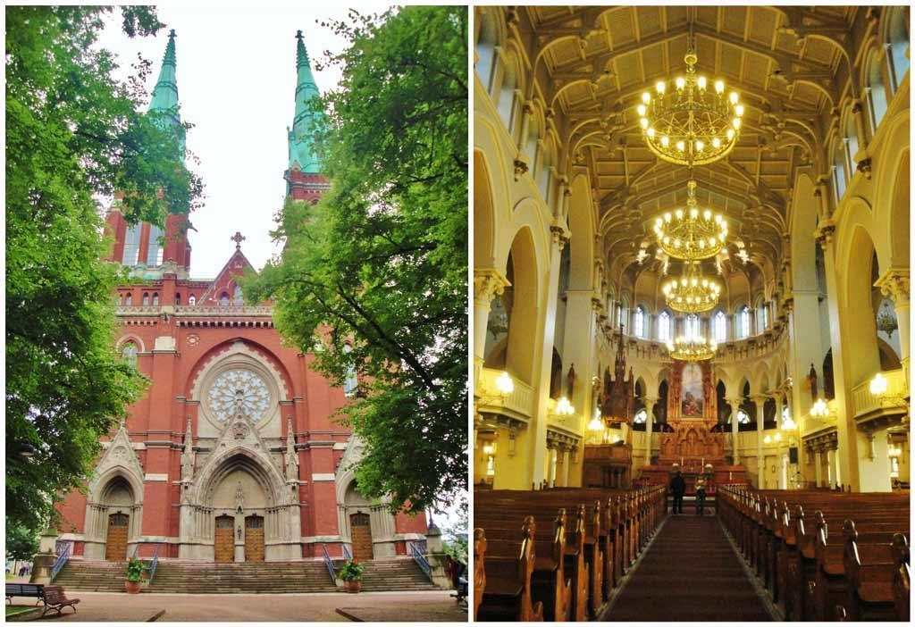 La Chiesa di San Giovanni, vista esterna e vista interna