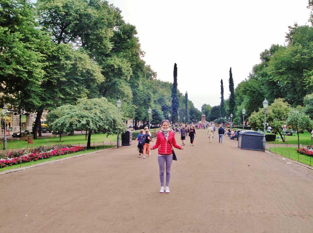 Il parco Esplanade