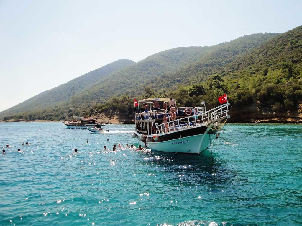 Crociera in barca a Bodrum lungo la Costa Turchese