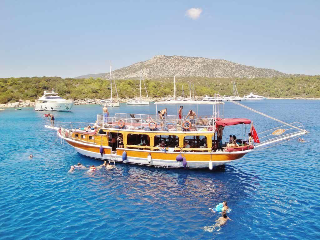 Escursione in barca a Bodrum sul Mar Egeo
