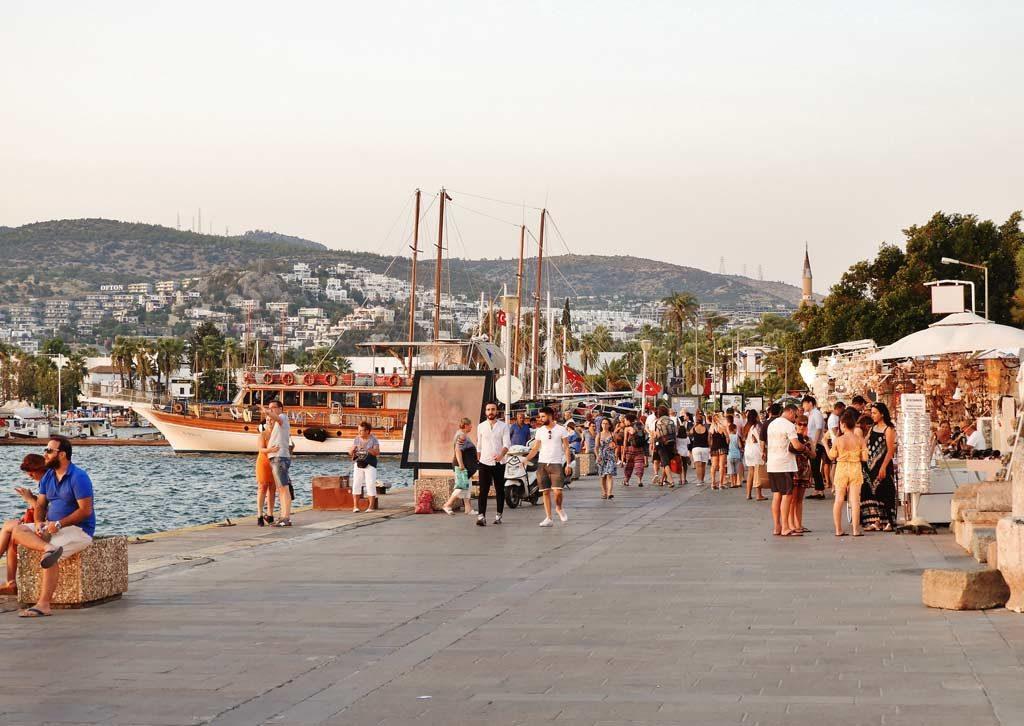 Il porto di Bodrum