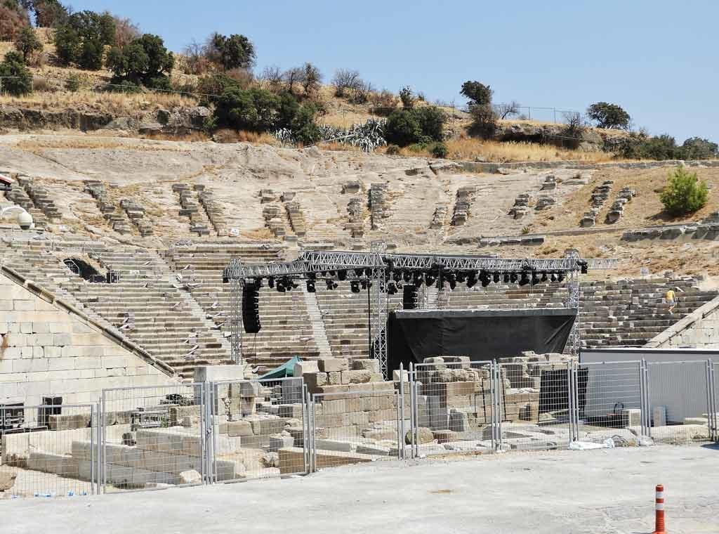 Teatro antico di Bodrum