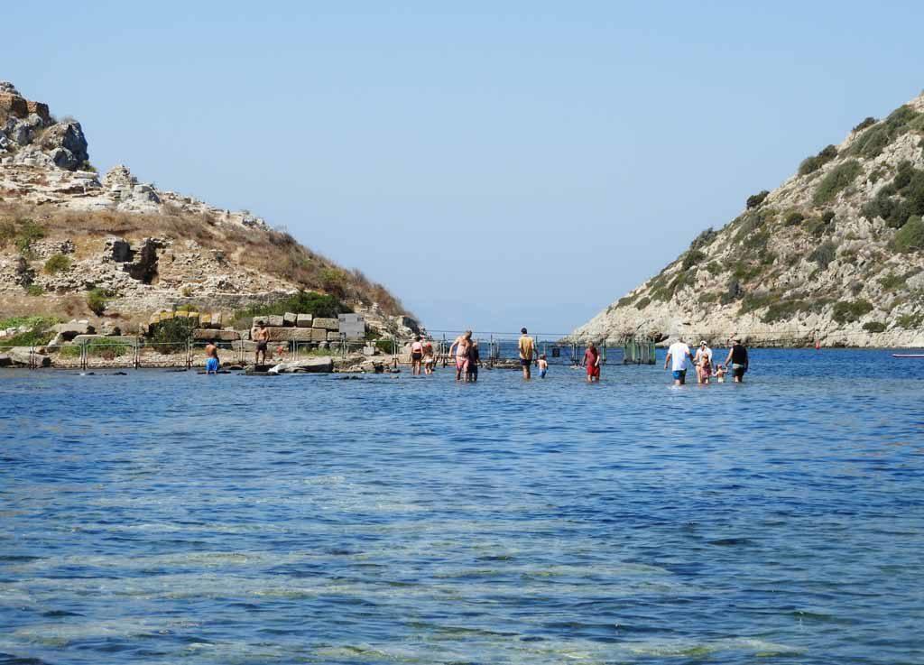 L'Isola dei Conigli a Gümüşlük, nei pressi di Bodrum in Turchia