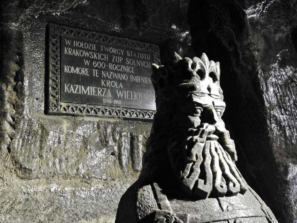 Miniera di Wieliczka, scultura di sale