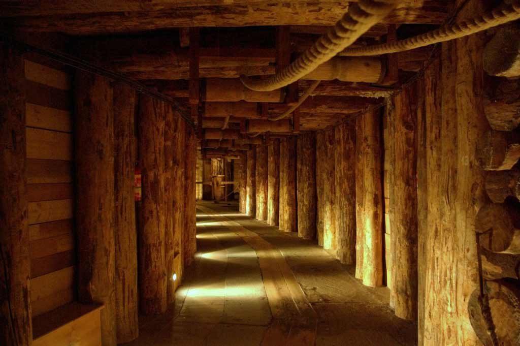 Galleria della miniera di sale di Wieliczka