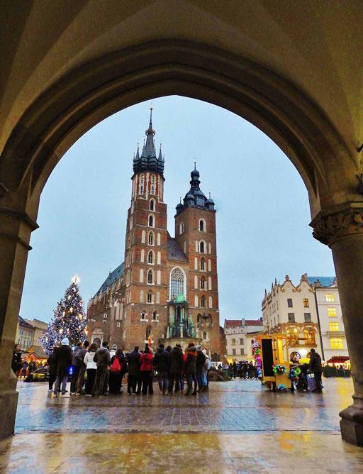 Cosa vedere a Cracovia a Stare Miasto: la Basilica di Santa Maria