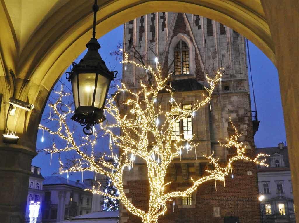 Cracovia, Natale in piazza Rynek Głowny