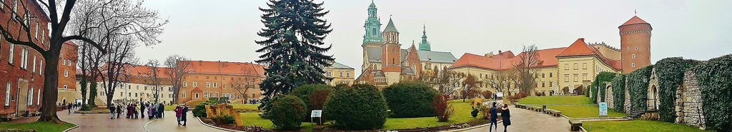 Panorama collina Wawel