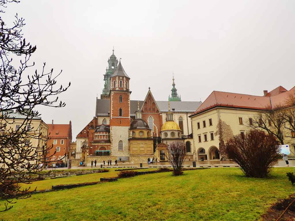 Collina Wawel Cracovia