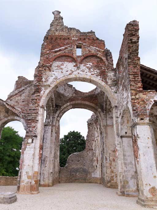 L'abbazia di Nervesa della Battaglia