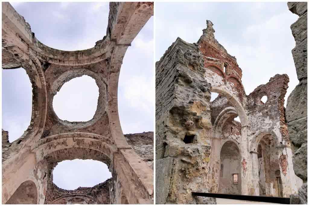 I ruderi dell'abbazia di Nervesa