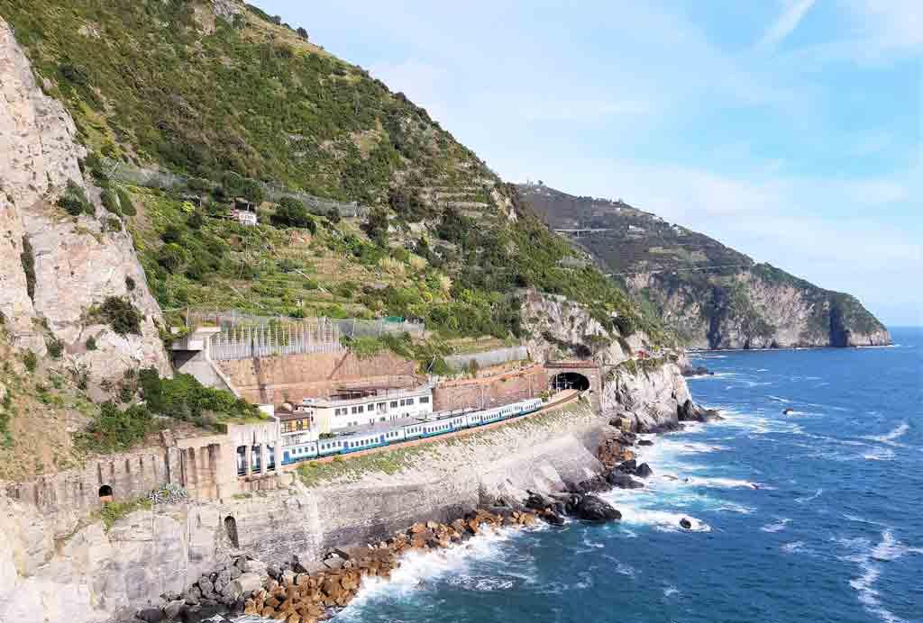 Ferrovia litoranea da Levanto a La Spezia