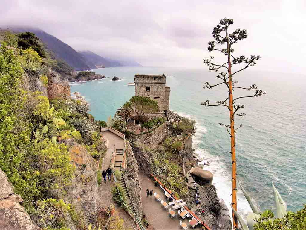 Monterosso al Mare: torre Aurora